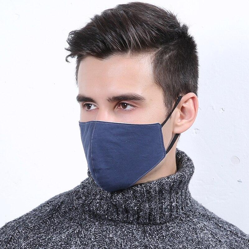 FleißIg 10 Teile/paket Herrenmode Baumwolle Maske Großhandel Winter Winddicht Staubdicht Kalten Baumwolle Atemschutz B A P Kpop Snowboard Maske