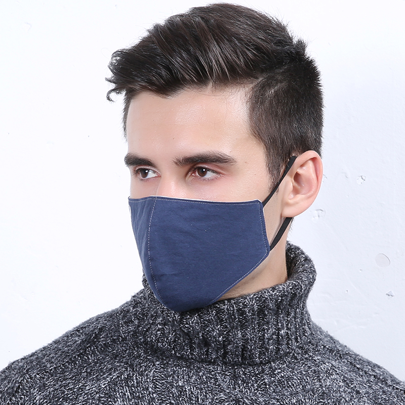 10pcs/Pack Men's Fashion Cotton Mask Wholesale Winter Windproof Dustproof Cold Cotton Respirator B.a.p Kpop Snowboard Mask
