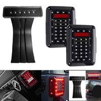 2pcs Led Taillight Car JK Brake Light Reverse Light Signal Light Led Third Rear Tail Lights