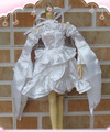 1/3 1/4 1/6 BJD куклы платье Rozen maiden cos Schoumln Schneegloumlckchen Кристалл Kirakishou