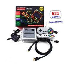 2018 Toptan 620 Oyunları Çocukluk Retro Mini Klasik 4 K TV HDMI/AV 8 Bit video oyunu Konsolu El Oyun oyuncu