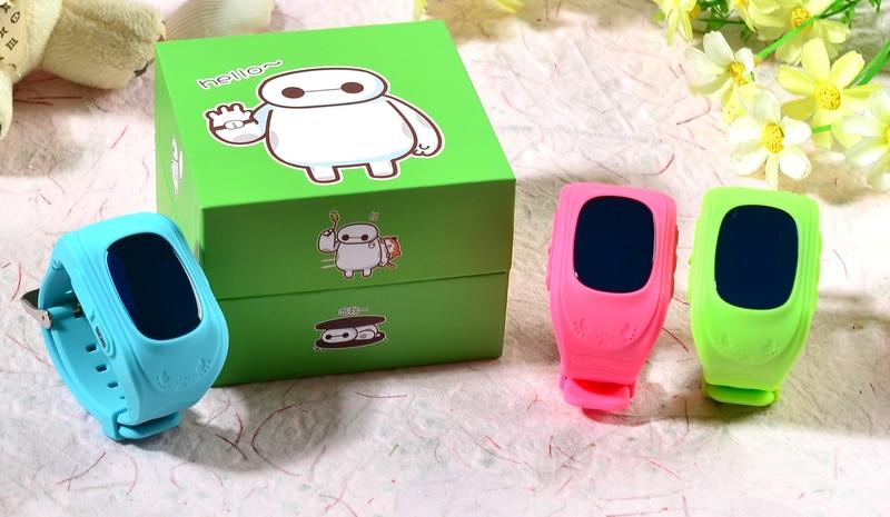 imágenes para Smart watch for kids smart watch digital q50 gps de localización de posición y llamada bidireccional y sos comunicador para ios y android teléfono caliente