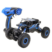 RC Car 4WD 2.4GHz climbing Car 4×4 Double Motors Bigfoot Car Remote Control Model Off-Road Vehicle Toy