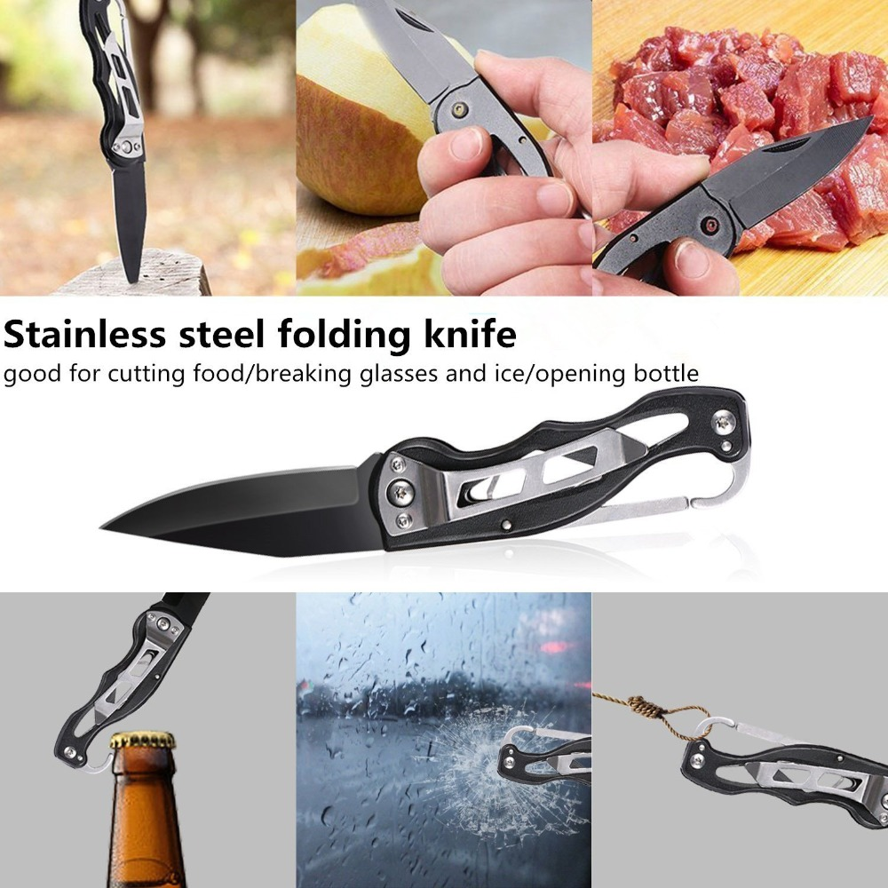 Survival kit set military outdoor travel mini camping tools aid kit emergency multifunct survive Wristband whistle blanket knife (7)