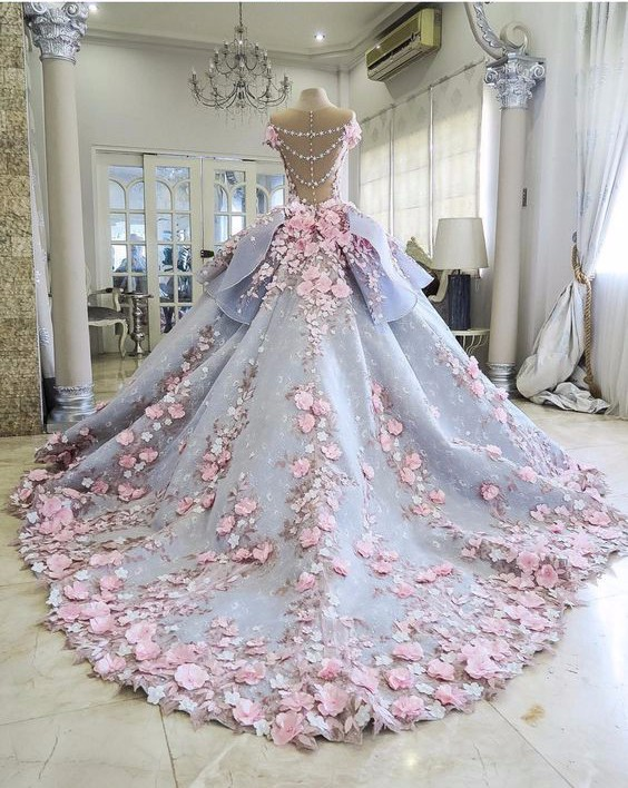 Saudi-Arabic-Evening-Dress-Gorgeous-Robe-De-Soiree-Floral-Evening-Dresses-Sleeve-Modest-Formal-Gown-3D (2)