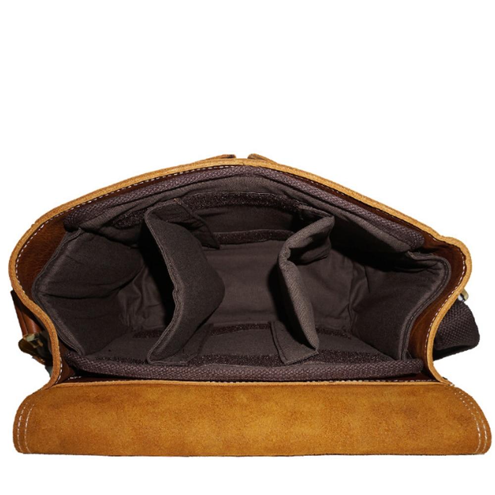 schwarz Mode Tasche Made Kuh Brown Hand Einzigen Vintage funktion Multi Echtes black Leder Crossbody Braun Schulter tasche Kamera OSOw8Xq