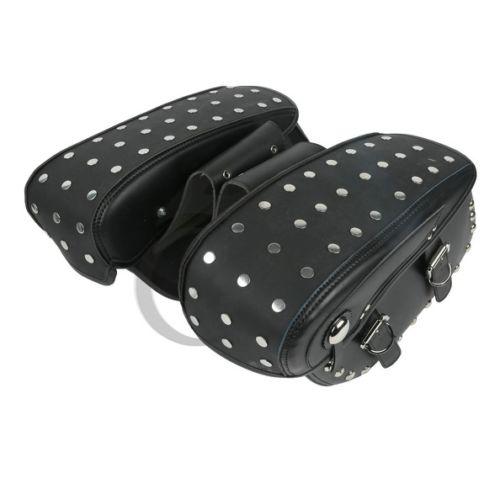 Черный кожаный седельные сумки для Harley Дэвидсон dyna с Софтейла жир Боб FXDF широкий скользить FXDWG FXDC супер скользить пользовательские