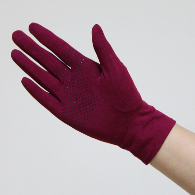 New Suede Sun Protection Gloves Male Female Summer Thin Short Style Anti-Slip Driving Gloves Sweat Absorption Mittens SZ008W 2