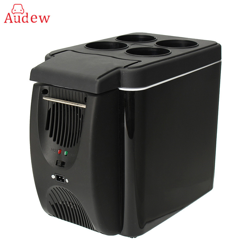 Audew 12V 6L Portable Mini Warming and Cooling Vehicle Refrigerator Car Freezer Fridge Hot and Cold Double For Car And Home Use kids sport suits boys girls tracksuits children clothing baby infant outfits 4 color fashion sets 2018 spring autumn kid clothes