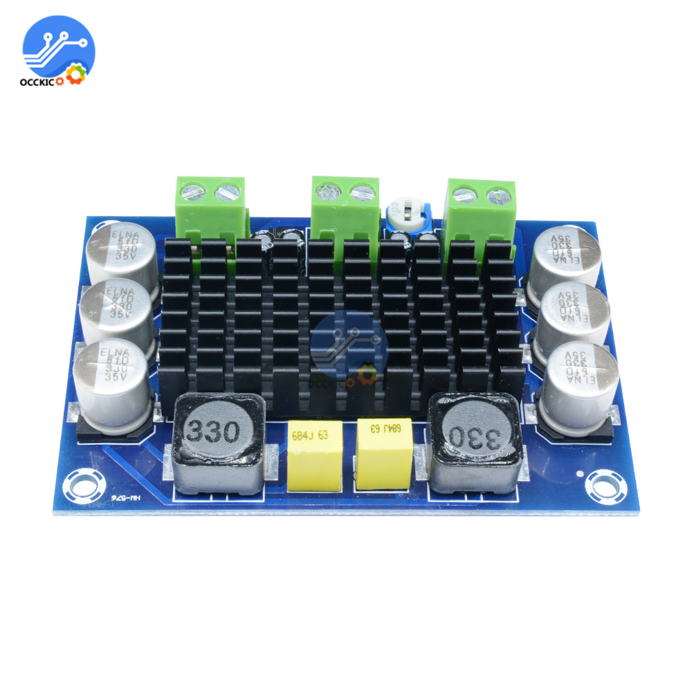100W TPA3116D2 Mono Amplifier Board Class D 12V-26V Digital Audio Power Amplifier Sound Board AMP