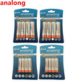 analong 1.2V 2200mAh AA Rechargeable Battery + and 1000mAh AAA Rechargeable Batteries