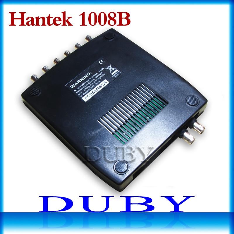 Hantek 1008B 8CH USB Oscilloscope Professional Automotive Diagnostic Oscilloscope запонки arcadio rossi 2 b 1008 13 e