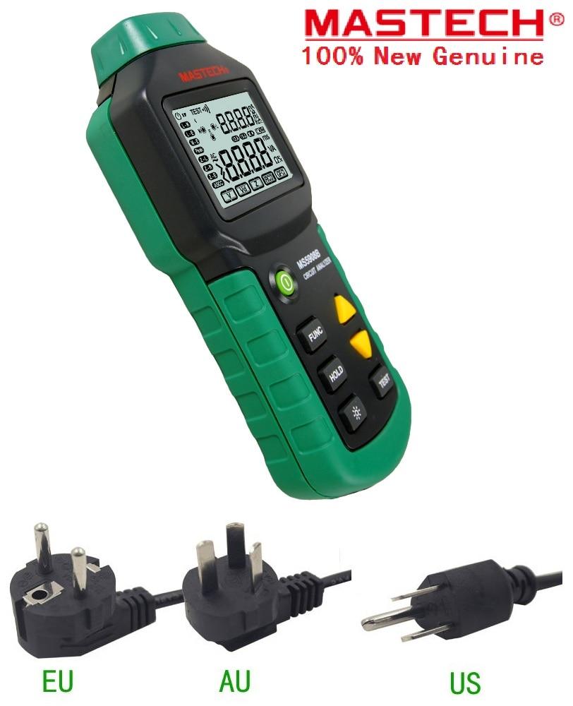 EU plug MS5908B MS5908A/C RMS Circuit Analyzer Tester Compared w/ IDEAL Sure Test Socket Tester 110V/220V RCD GFCI Sockets Test цена
