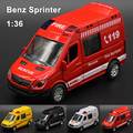 Mercedes-Benz Sprinter Diecasts Liga Modelo de Carro Carro de Brinquedo Menino Carro Quente Máquinas de rodas de Carros Crianças Brinquedos para Crianças Brinquedos para Meninos MBSRed
