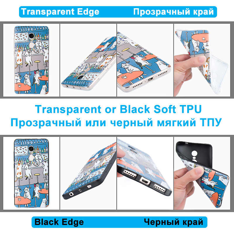 For Huawei Y9 2018 Back Matte Black Mainstream Cover 5.93 inch for Huawei Enjoy 8 Plus Silicone Soft For FLA-AL00 AL10 AL20 Capa