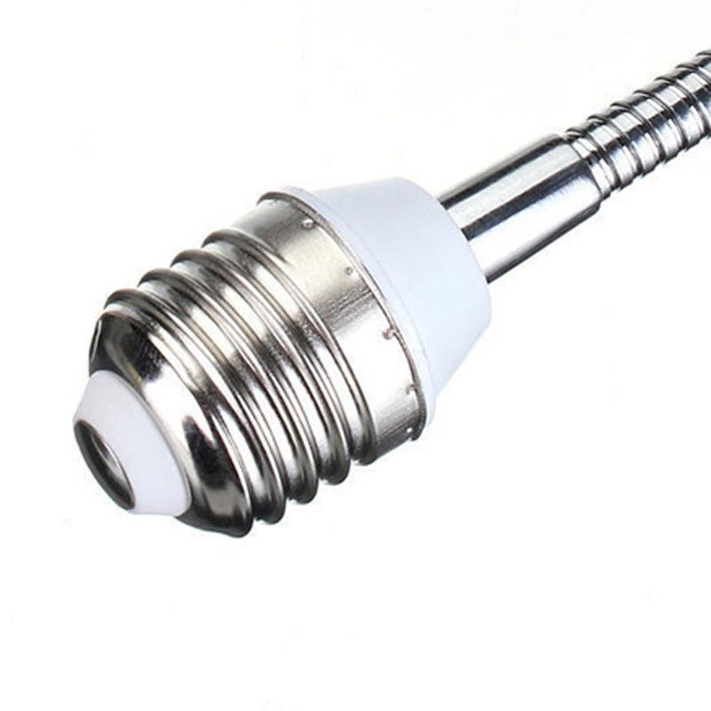 E27 LED Light Screw Bulb Lamp Holder Flexible Extension Adapter Socket for Home Bedroom Lighting Accessories Night Light Holder