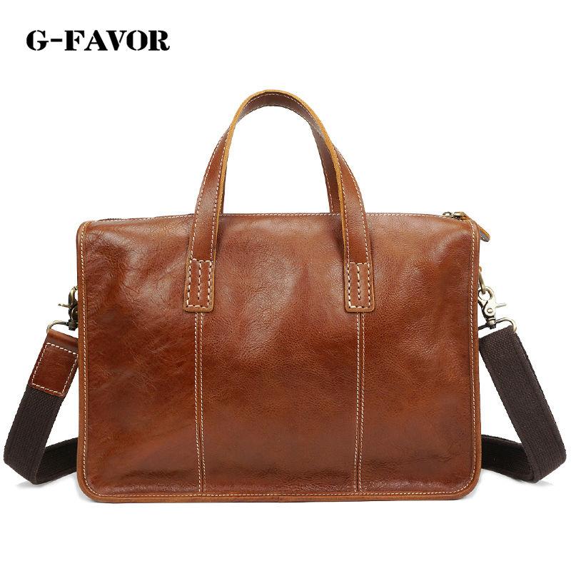 Classic Leather Briefcases Men Brief Case Lawyer Bag Business Handbag Satchel Bag Laptop Bag Portfolio Office Case bestsafe d 10 074 page 7