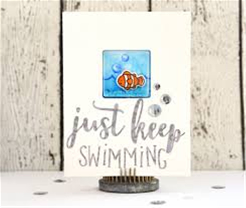 Naifumodo Sea You Clear Stamps and Die Animals Birthday Metal Die Cutting Craft New 2019 Scrapbooking Card Making Embossing DIY in Cutting Dies from Home Garden