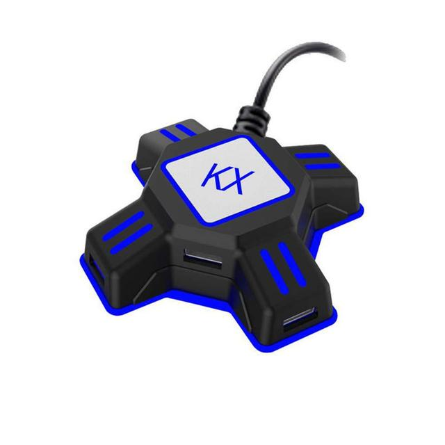 EastVita KX USB משחק בקרי מתאם ממיר וידאו משחק מקלדת עכבר מתאם עבור מתג/Xbox/PS4/PS3