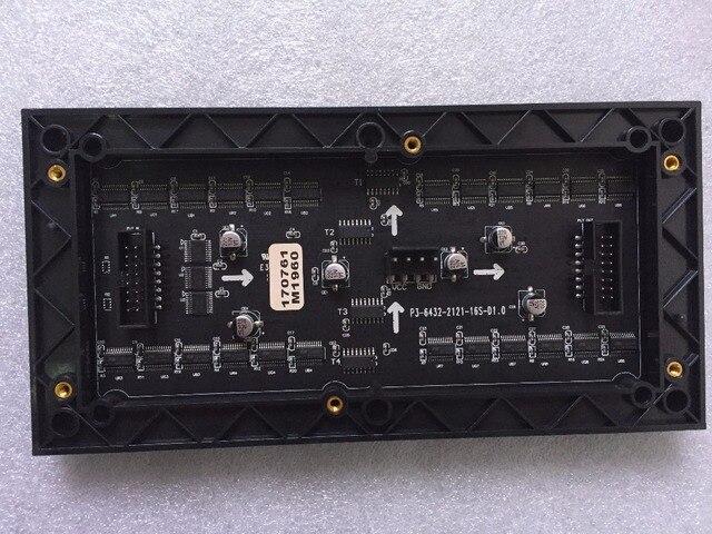 P3 panelowa RGB ekran hd 64x32 kropka matrycy kryty SMD modułu LED 192x96mm wyświetlacz LED ścienne P4 P5 P6 P8 P10