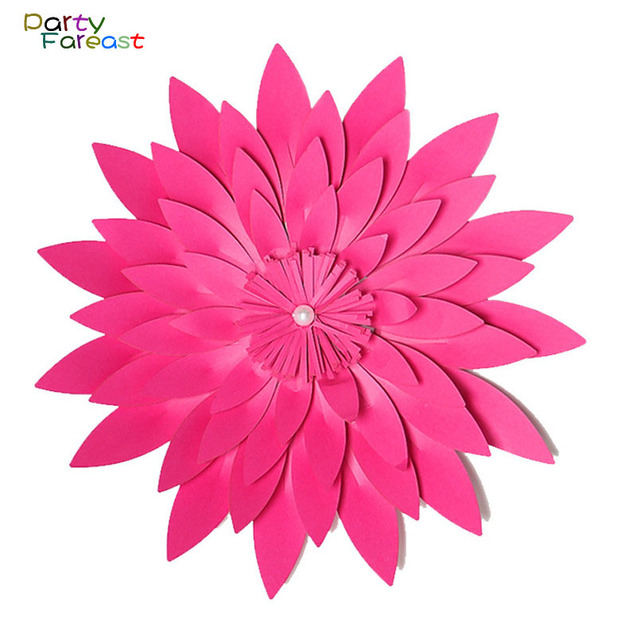 Pf 15cm artificial flower multicolor 3d paper flowers handmade diy pf 15cm artificial flower multicolor 3d paper flowers handmade diy craft for wedding home party decoration mightylinksfo