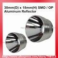 Алюминиевый отражатель 30 мм (D) x 18 мм (H) SMO/OP