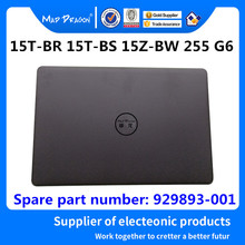 MAD DRAGON Brand laptop NEW LCD Top Cover LCD Back Cover For HP 15T BR 15T BS 15Z BW 255 G6 929893 001 AP2040002H0 Black A shell