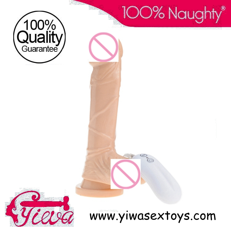 Buy 8.1 inch Multi Function Vibrating dildos,100% Real Skin Feeling Realistic shape ejaculating  sex toys image female,