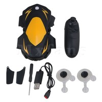 Mxfans 2.4G RC Black Yellow Remote Control RC Folding Quadcopter with 2 Megapixel WiFi Camera