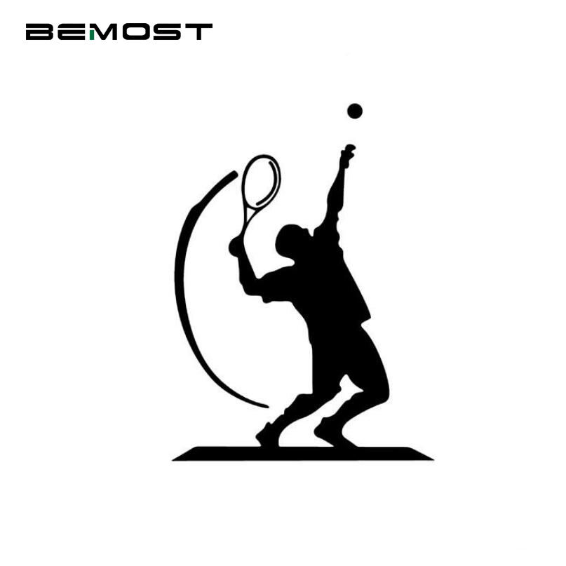 BEMOST Car Styling Sports Car Stickers The Racquet Club Hotel Occupation Tennis Fashion Reflective Vinyl Decals 11*15CM
