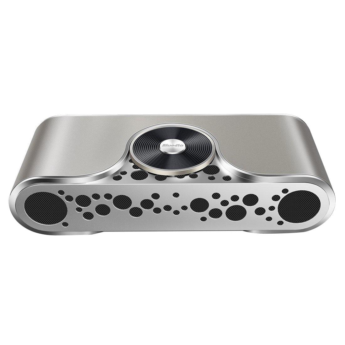 Bluedio TS-3(Turbine) 2.1 Channel Wireless Bluetooth Speaker with Micro SD Card Slot(Gold)