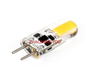 Image 4 - DIMMABLE GY6.35 LED Lamps 5W AC/DC 12V Corn Light Bulb Droplight Chandelier 1505 G6.35 COB Led Bombillas White/Warm white Lamp