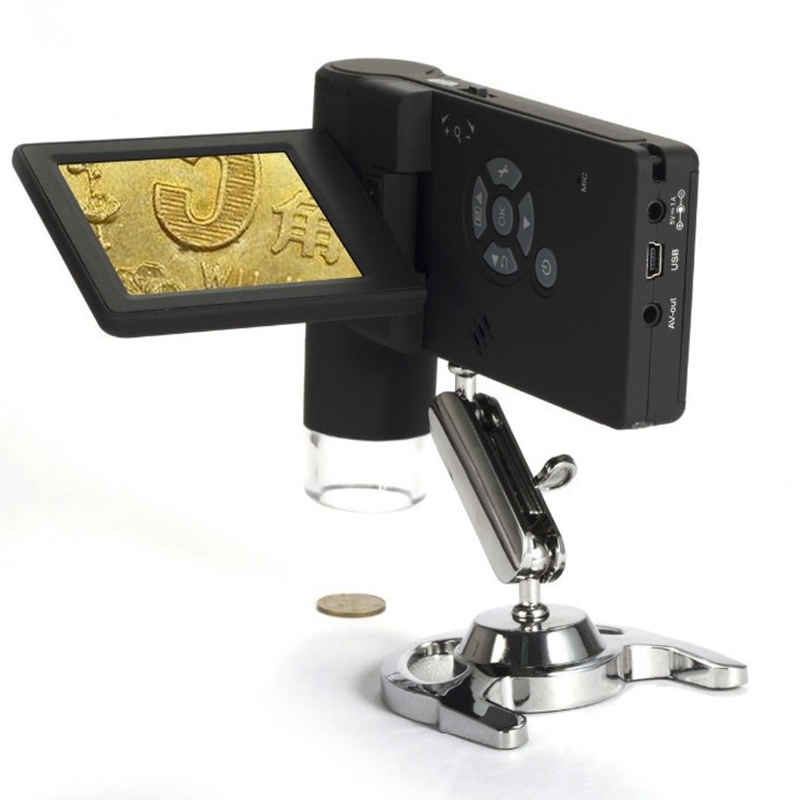 Professional Handheld HD 5.0 MP 500X Digital Microscope with 3