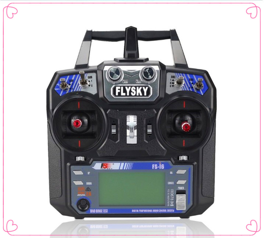 Flysky FS-i6 FS I6 2.4G 6ch RC Transmitter Controller wvith FS-iA6 Receiver For RC   Helicopter Plane Quadcopter Glider drone flysky fs i6 2 4g 6ch rc transmitter controller with fs ia6 receiver system lcd screen for rc helicopter plane quadcopter