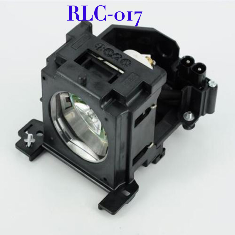 все цены на  Free shipping For RLC-017 High Quality  Projector lamp Bulb With Housing For PJ658 projector  онлайн
