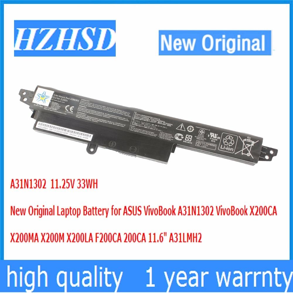 11.25V 33WH New Original A31N1302 Laptop Battery for ASUS VivoBook VivoBook X200CA X200MA X200M X200LA F200CA 200CA 11.6