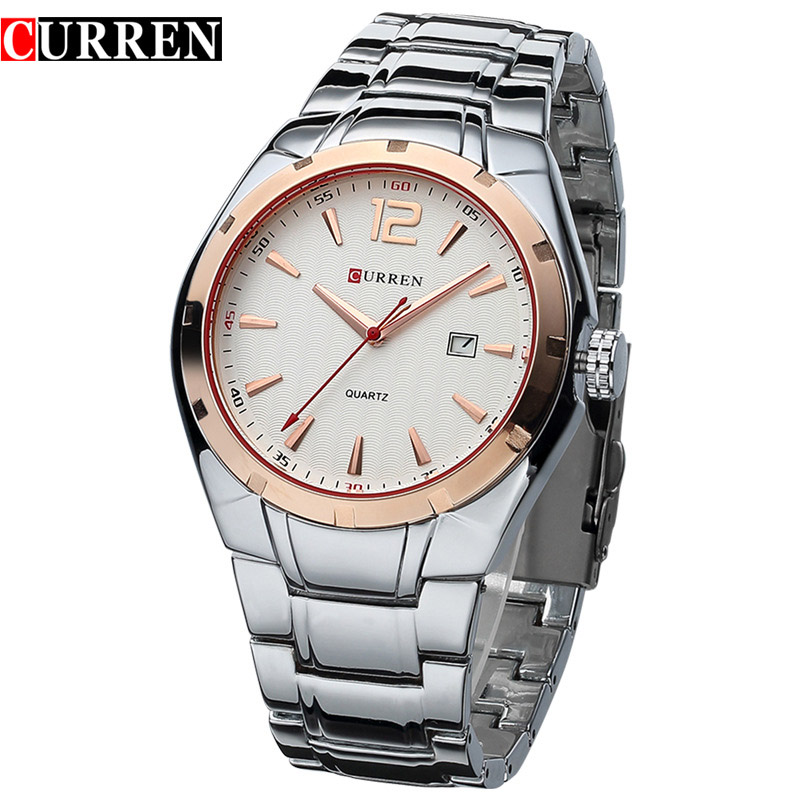 CURREN Luxury Brand Analog Display Date Wrist Watch Quartz Watch Men Casual Clock Men's Watches relogio masculino 8103 curren luxury brand nylon strap analog display date men s quartz watch casual watch men sport wristwatch relogio masculino w8195