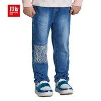 Toddler Girls Jeans Kids Denim Pants Light Blue Jeans Ligth Weight Soft Girls Jeans Lace Patch