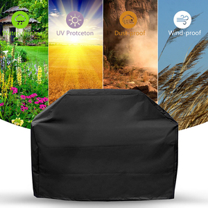 Image 2 - BBQ Cover Waterproof BBQ Accessories Anti Dust Rain Gas Cover Electric Barbeque Grill Cover Portable Outdoor BBQ Cover Plus Size