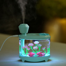 460ML Air Humidifier Essential Oils for Aromatherapy Diffusers Aroma Diffuser USB Humidifiers Light Humidificador for Home Car