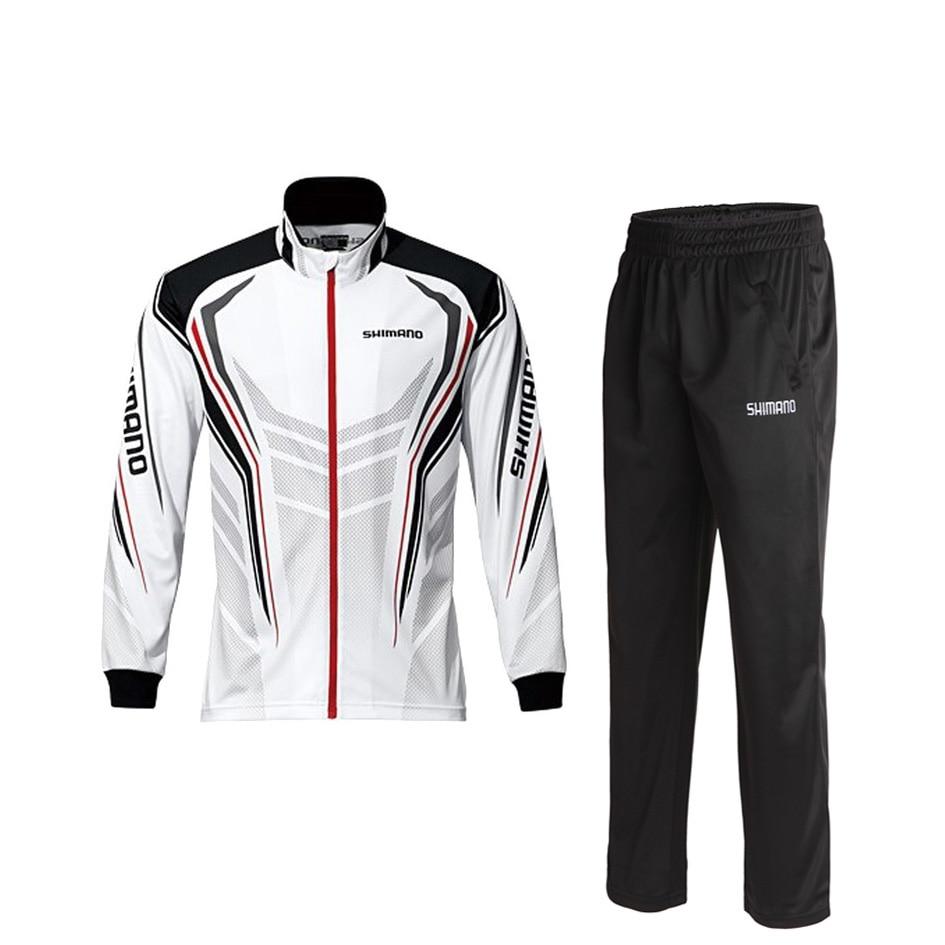 Prix pour 2017 Vêtements De Pêche Ensembles Hommes Respirant UPF 50 + UV Protection de Sport En Plein Air Costume D'été De Pêche Chemise et Pantalon 999