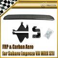 Car-styling For Subar 2015 on Impreza VA WRX STI Style Carbon Fiber Rear Bumper Diffuser (With fitting bracket) In Stock