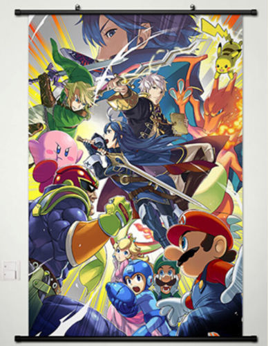 The Legend Of Zelda Home Decor Anime Japanese Poster Wall Scroll New