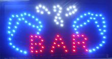 "CHENXI Hot Sale Bar Beer Pub Drinking Store Sign10*19"" Semi-outdoor Ultra Bright Led Signs"