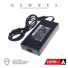 Подлинная Delta 180 Вт 19,5 в 9.23A AC ноутбук адаптер питания зарядное устройство для MSI GT60 GT70 GS63VR GS73 17B4 GE63 GE73 ADP-180MB K