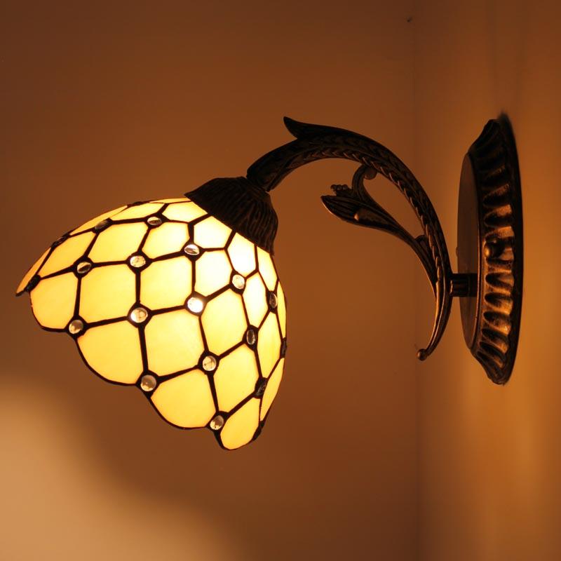 Yi Xuan European style and modern simple bedside lamp aisle lights room lamp lens headlight 0830W-B цена