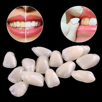 70PCS/Package Dental Ultra-Thin Whitening Veneers Resin Teeth Upper Anterior Teeth Beauty Health Tools