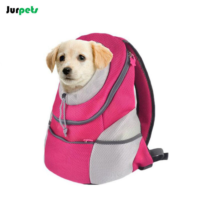 Popular Pet Backpack Fashionable Dog Shoulder Bag Carrier Breathable Soft Durable Portable Pets Carriers Outdoor Dogs Supplies