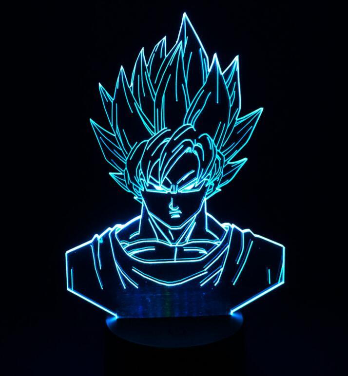 Toys & Hobbies Well-Educated Dragon Ball Z Son Goku God Super Saiyan Led Night Light Lamp Banpresto Anime Figure Toys Lampara De Luz Nocturna Leve