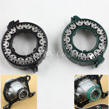 FSYLX 10pcs metal clip rings retainer D1S D1R D1C D2S D2 fixing clip ring for car D3S D3 D4S D4 HID Xenon Bulb Holder Base